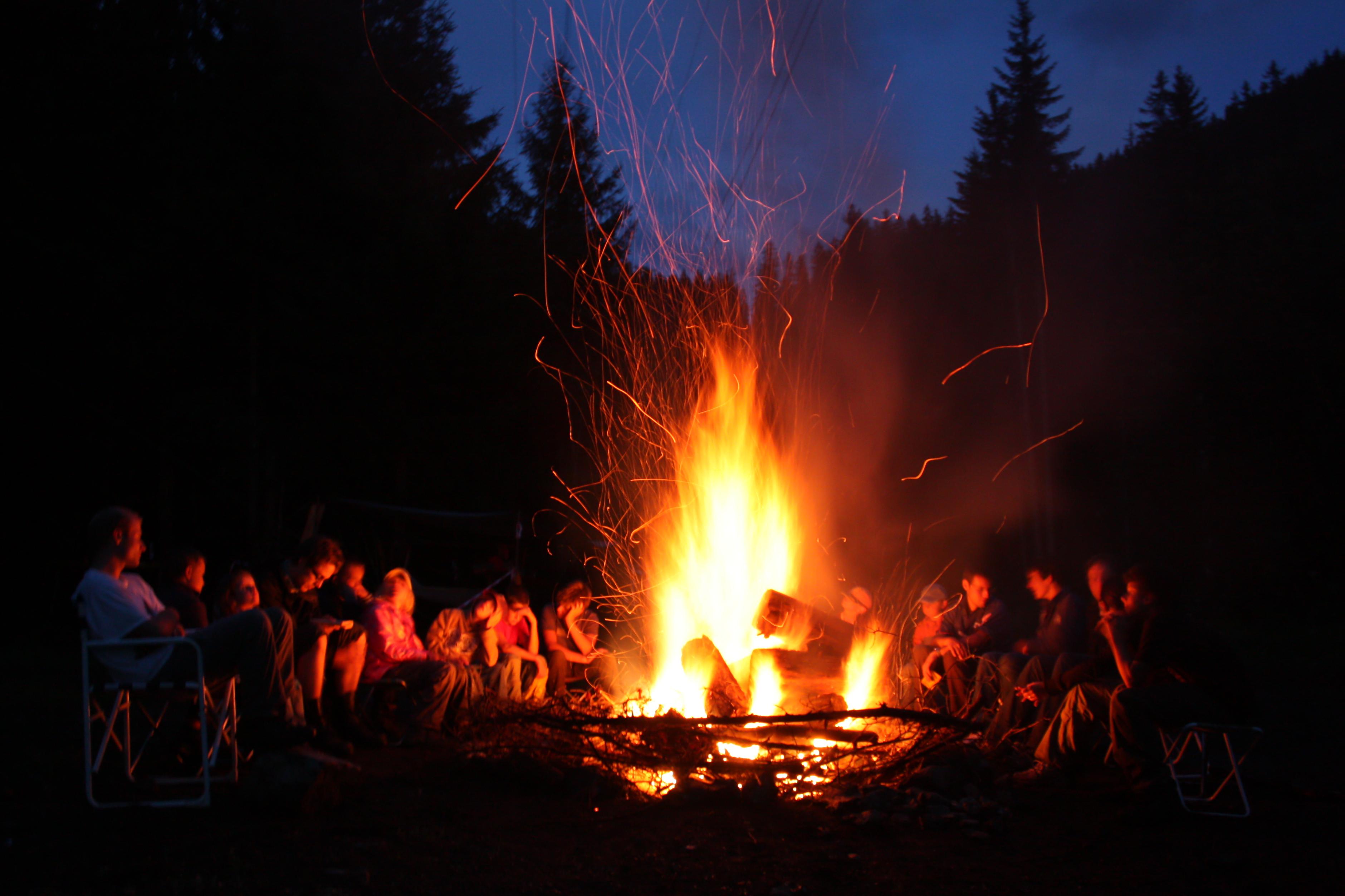 camp fire - photo #12